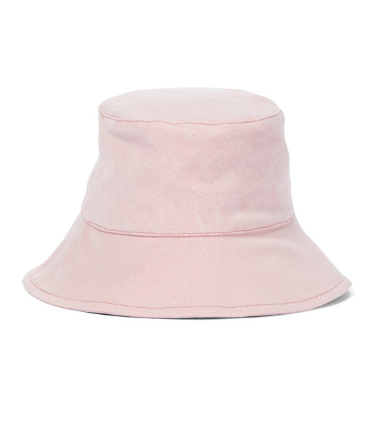 Isabel Marant Loiena cotton bucket hat in pink