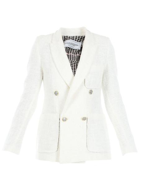 Forte Couture Forte Dei Marmi Couture Blazer Doppiopetto in white