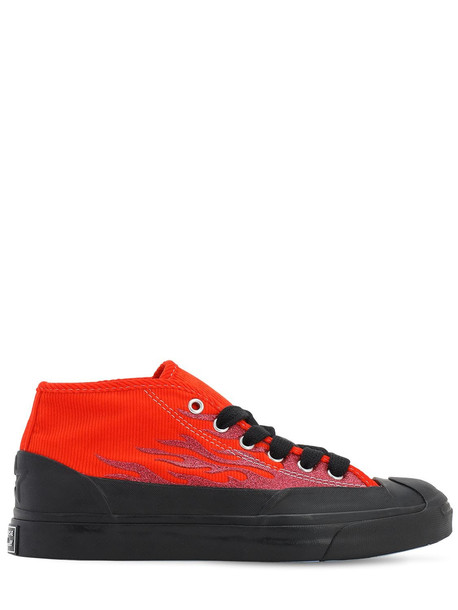 CONVERSE Asap Nast Jack Purcell Chukka Sneakers in orange