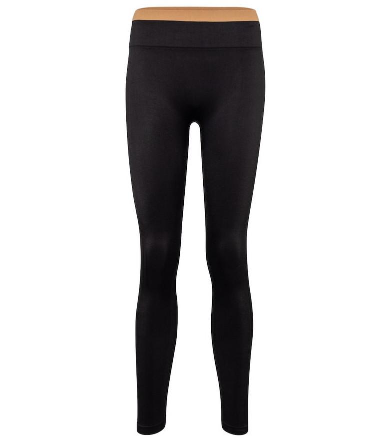 Reebok x Victoria Beckham High-rise technical-jersey leggings in black