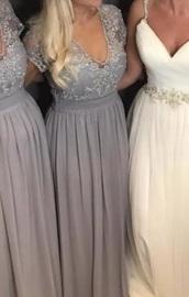dress,grey dress,bridesmaid