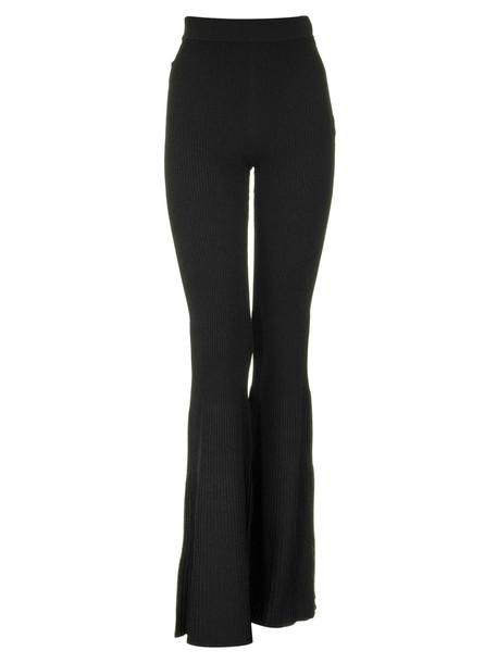 Elisabetta Franchi Celyn B. Elisabetta Franchi Celyn B. Ribbed Knit Pants in black