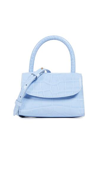 By Far Mini Bag in blue