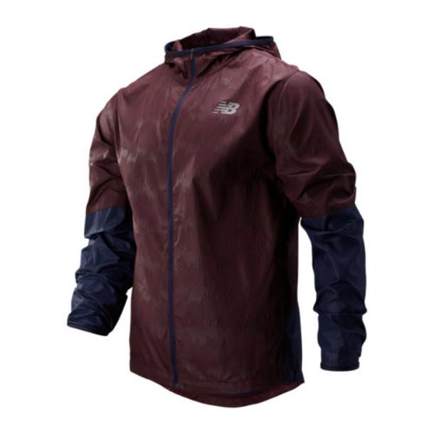 New Balance 93195 Men's Velocity Jacket - Purple/Navy (MJ93195HNA)