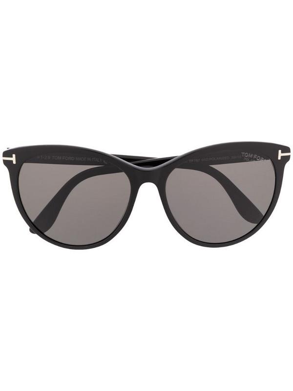Tom Ford Eyewear cat eye sunglasses in black