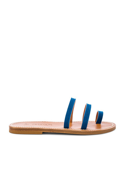 K Jacques Chiron Sandal in blue