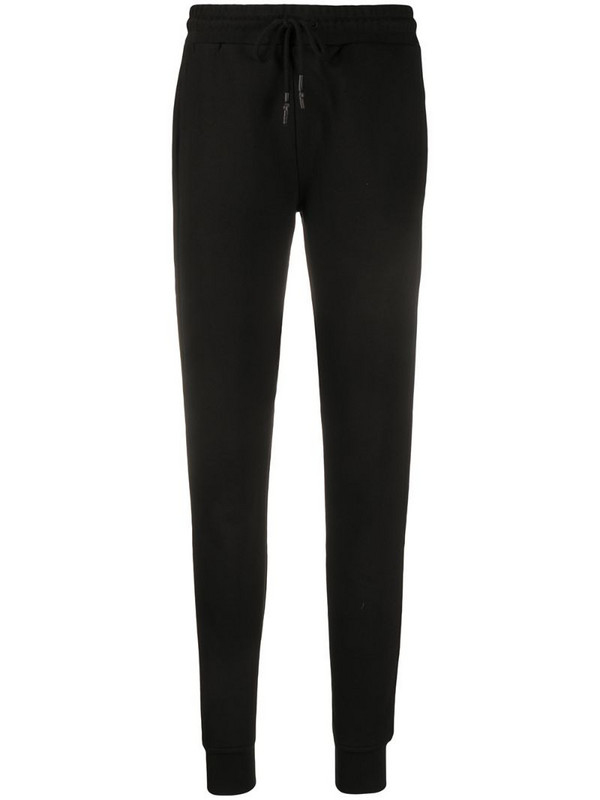 McQ Swallow drawstring track trousers in black