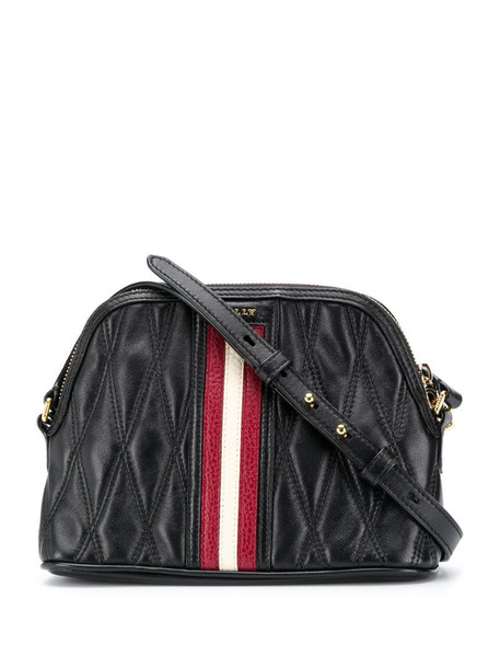 Bally Dalmah quilted crossbody bag in black