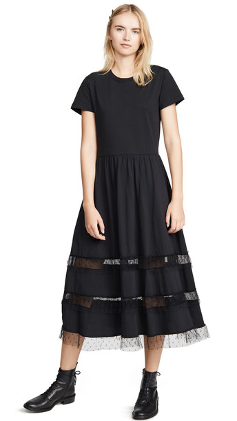 RED Valentino Jersey Dress in black
