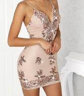 dress,sequin dress