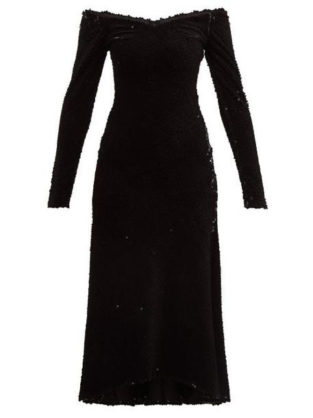 Maria Lucia Hohan - Elaina Sequinned Dress - Womens - Black