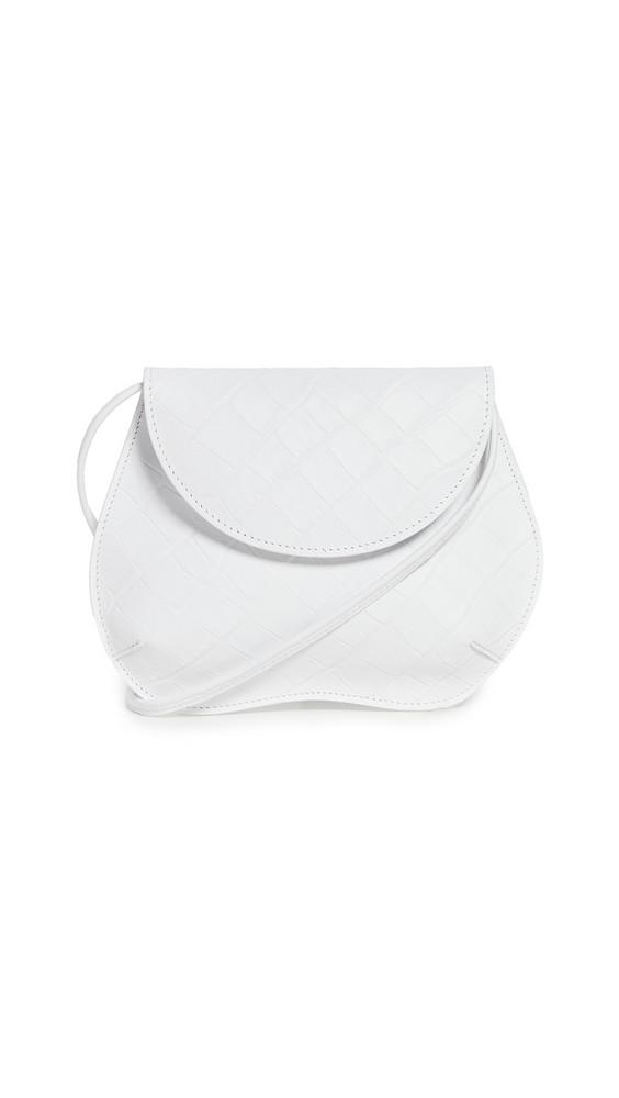 Little Liffner Pebble Mini Bag in white