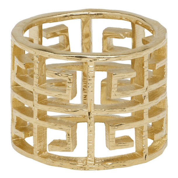 Givenchy Gold 4G Ring