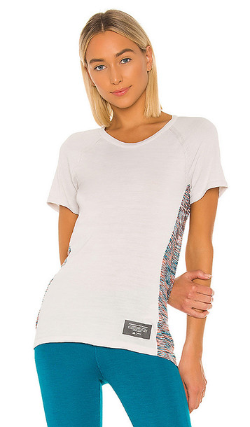 adidas by MISSONI Crew Tee in Gray