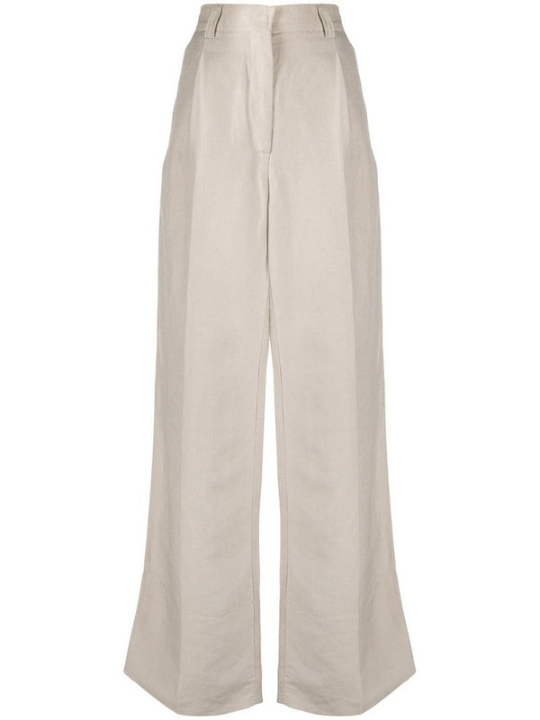 Soulland Margaret trousers in neutrals