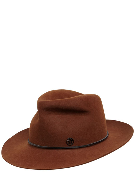 MAISON MICHEL Johnny Wool Felt Hat