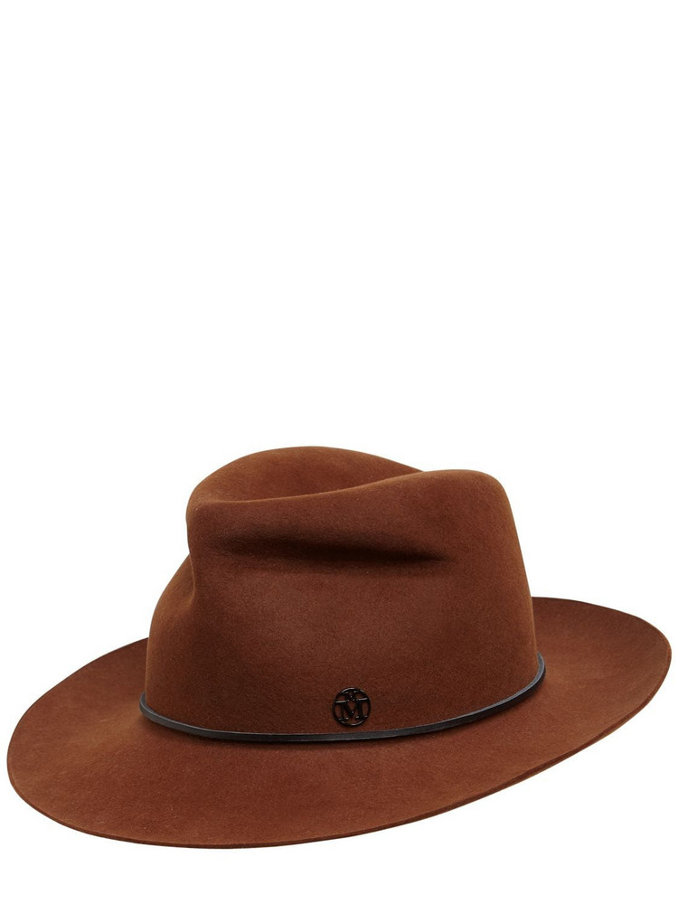 MAISON MICHEL Johnny Wool Felt Hat