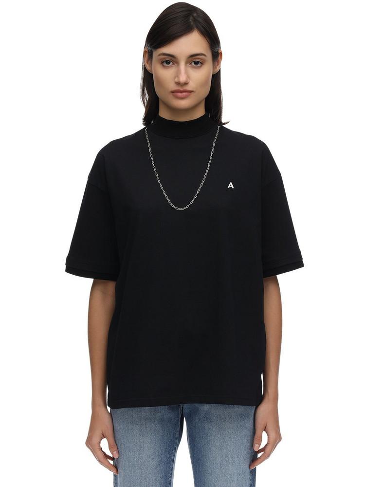 AMBUSH Logo Cotton Jersey T-shirt in black