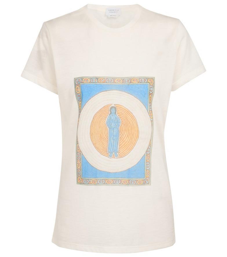 Gabriela Hearst Guibert cashmere T-shirt in white