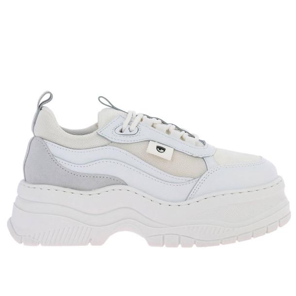 Chiara Ferragni Sneakers Shoes Women Chiara Ferragni in white