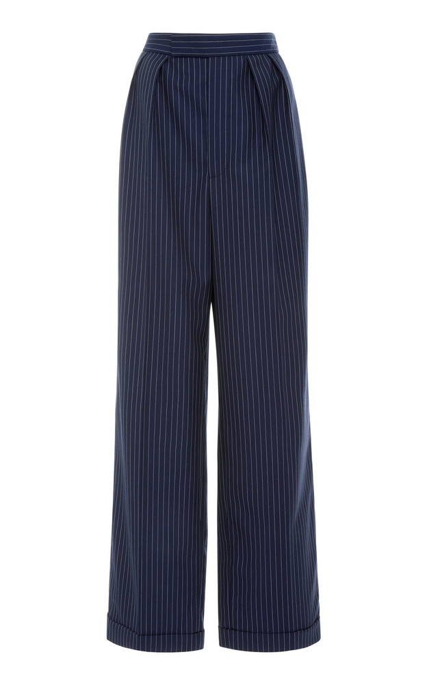 Ralph Lauren Arina Wide Leg Pant in blue