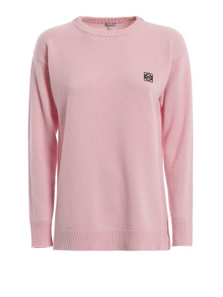 Loewe Anagram Sweater in pink
