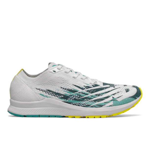 New Balance 1500v6 Women's US Site Exclusions Shoes - White/Yellow/Blue (W1500WY6)