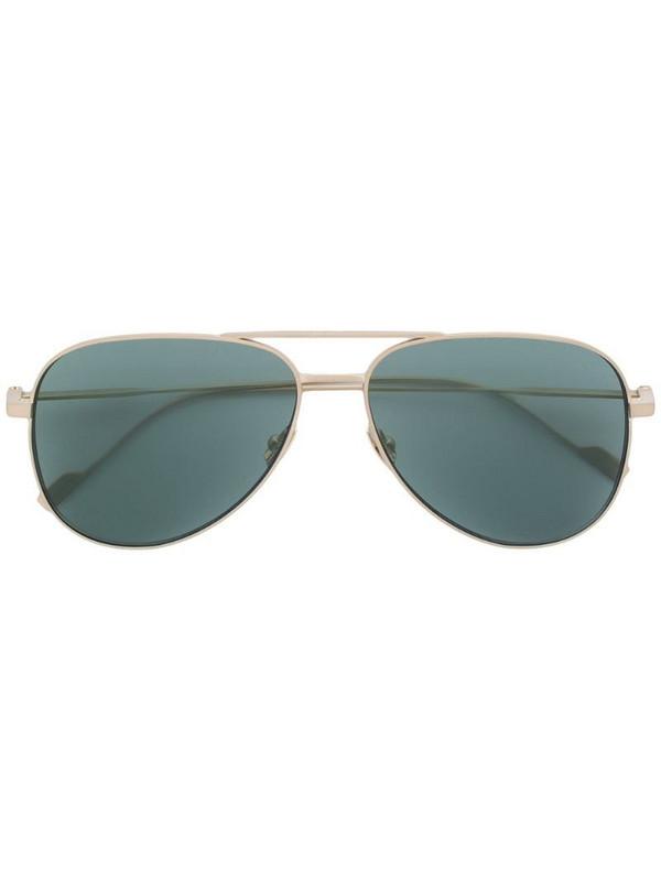 Saint Laurent Eyewear aviator sunglasses in metallic