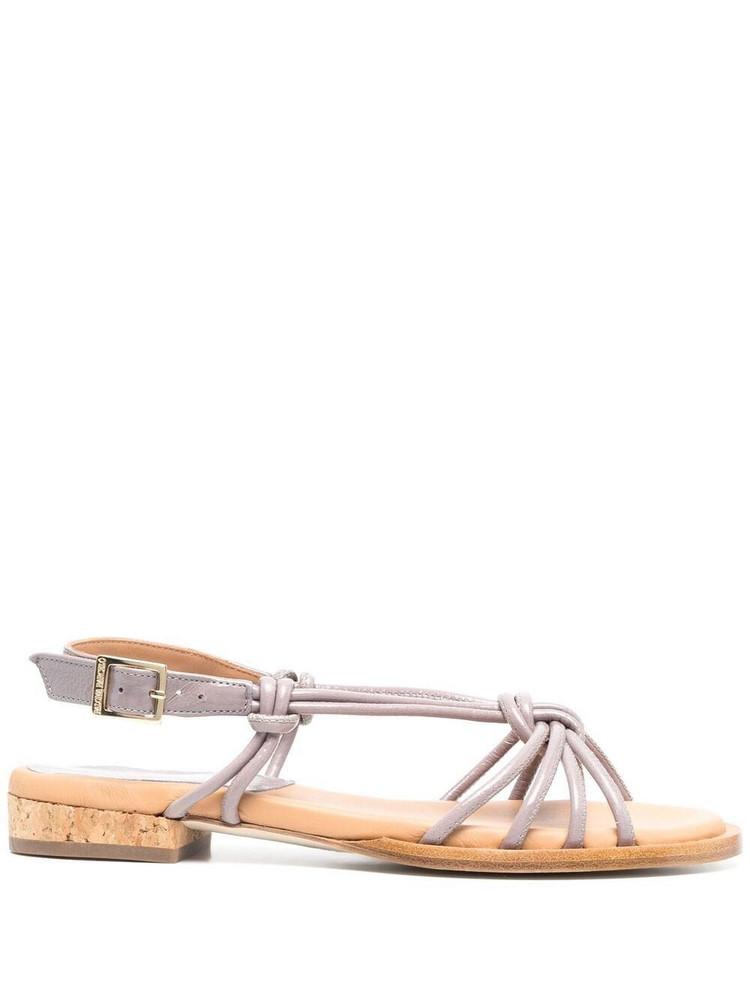 Paloma Barceló Paloma Barceló Pindare leather sandals - Purple
