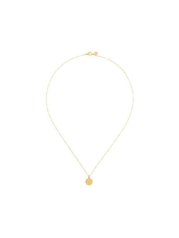 Astley Clarke zodiac Pisces pendant in metallic