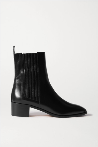 aeyde - Neil Leather Chelsea Boots - Black