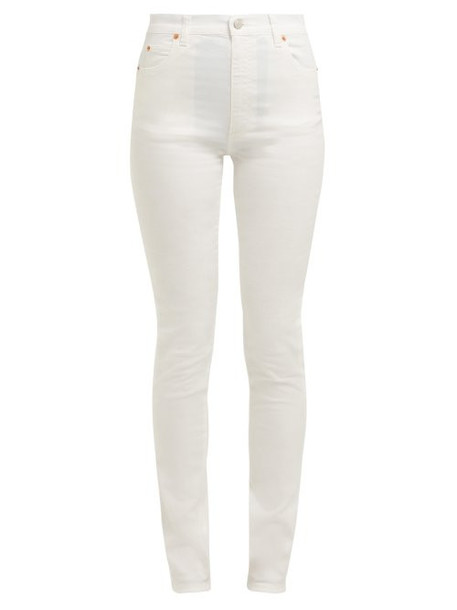 jeans high fit white