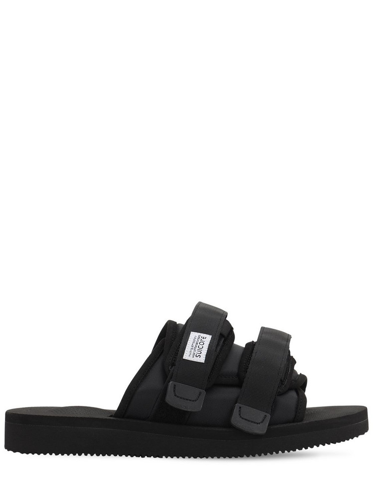 SUICOKE Moto-cab Sandals in black