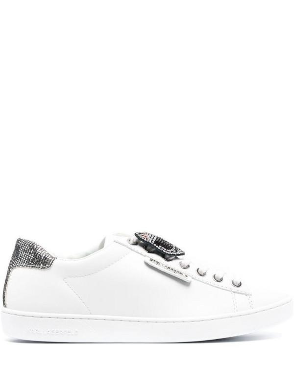 Karl Lagerfeld Ikonik Twin sneakers in white