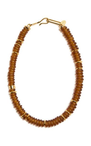 Lizzie Fortunato Honey Laguna Necklace in brown