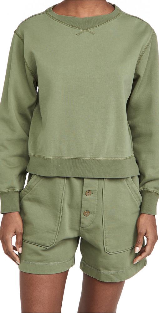 Alex Mill Lakeside Sweatshirt in green