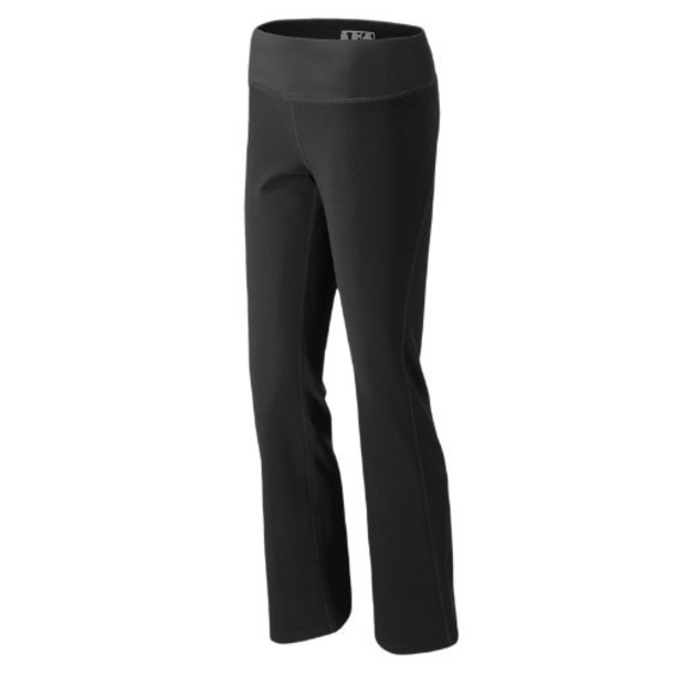 New Balance 3373 Women's Carefree Contender Pant - Black (WFP3373BK)