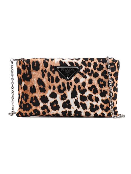 Prada Clutch Tess. leopard