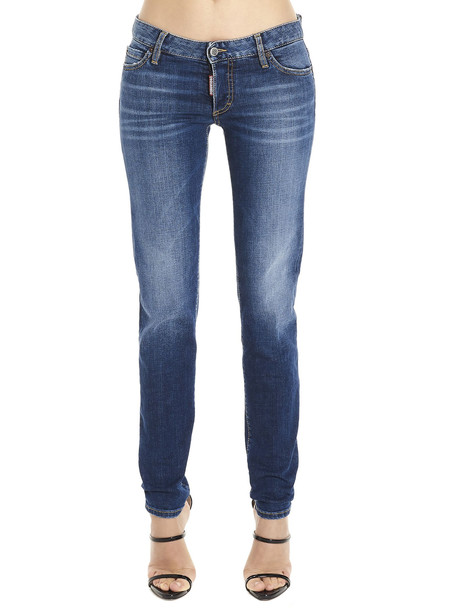 Dsquared2 jennifer Cropped Jeans in blue