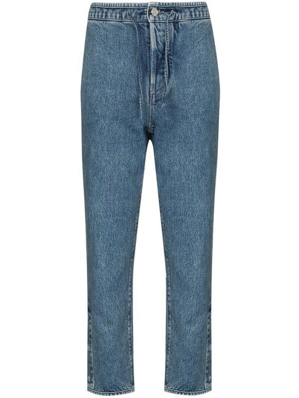 RtA Matisse straight leg jeans in blue