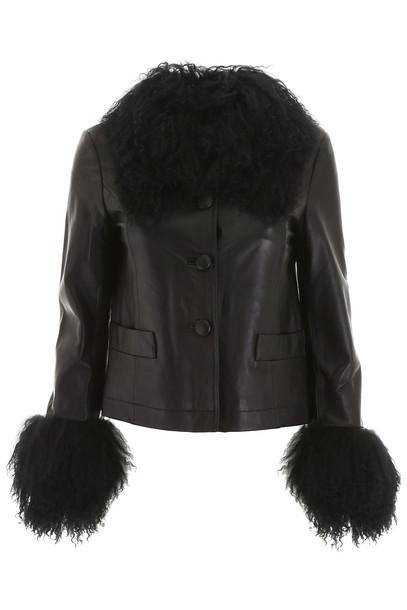 Saks Potts Dorthe Jacket in black