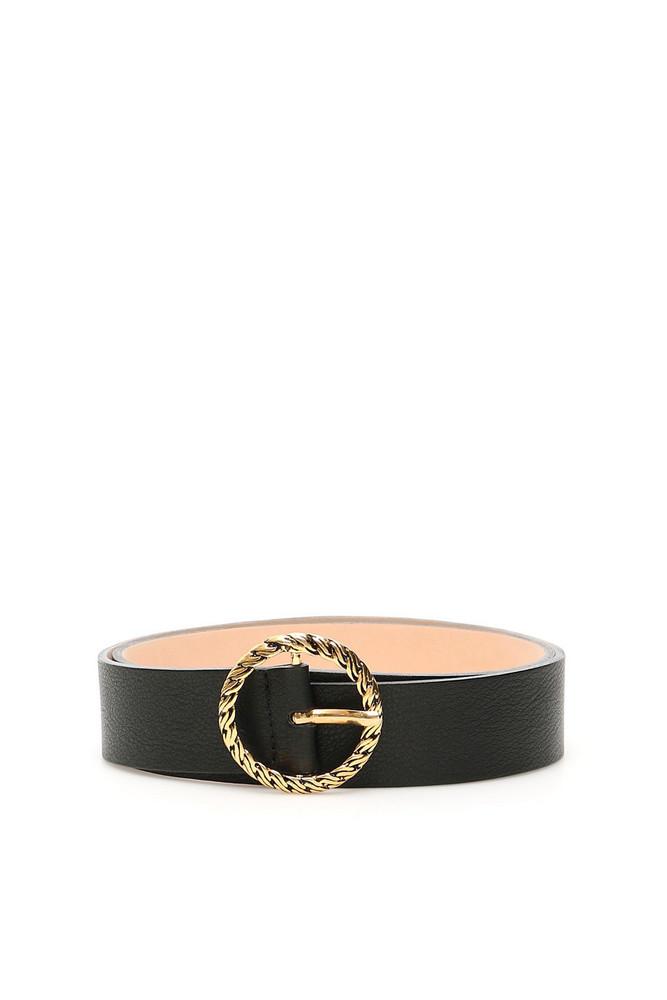B-Low the Belt Nadia Belt in black / gold