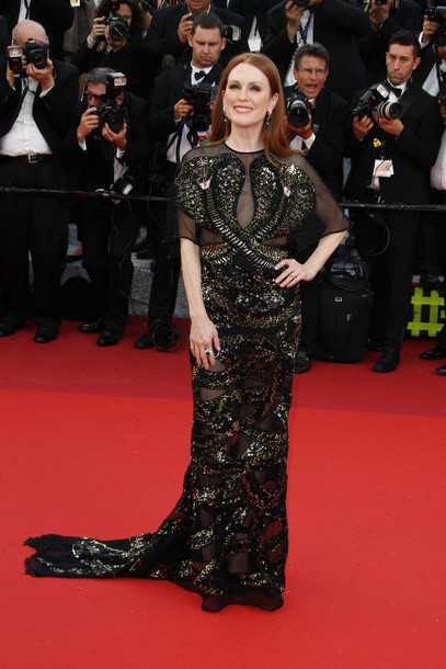 dress julianne moore cannes red carpet red carpet dress gown