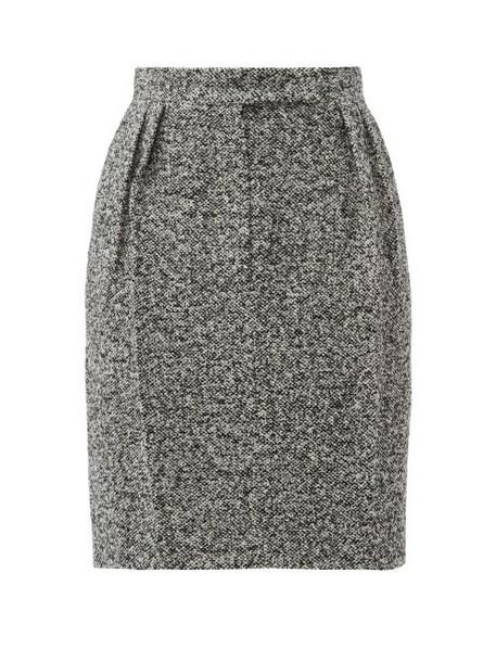 Max Mara - Rosita Skirt - Womens - Black White