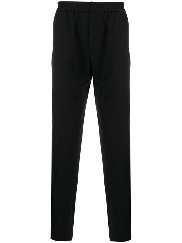 Stephan Schneider high-rise straight leg trousers in black