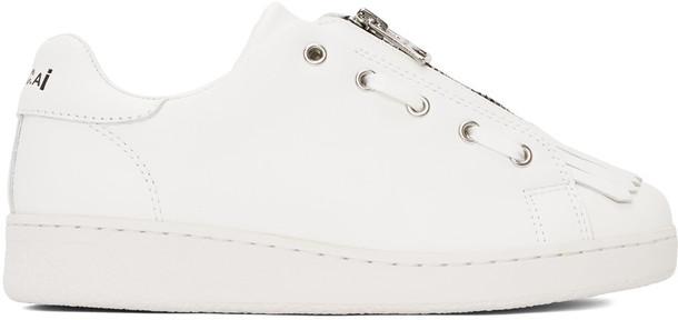 A.P.C. A.P.C. White Sacai Edition Julietta Minimal Sneakers