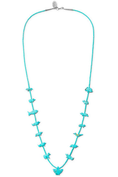 Jessie Western - Turquoise And Silver Necklace