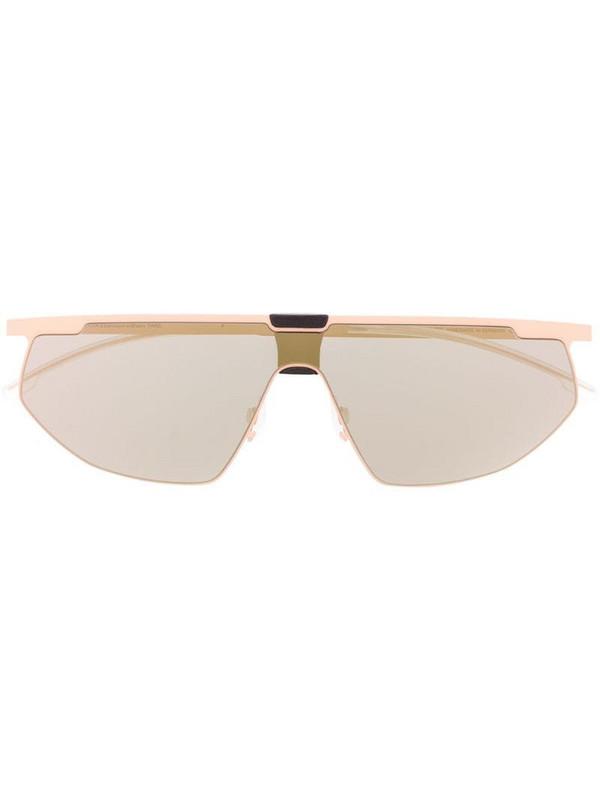 Mykita x Bernhard Willhelm Paris oversized tinted sunglasses in pink