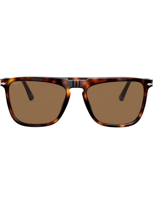 Persol square frame sunglasses in brown
