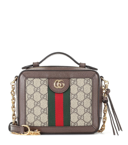 Gucci Ophidia GG Mini shoulder bag in beige